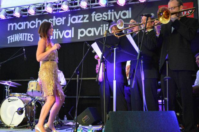 Charlie Cooper and the CCs at Manchester Jazz Festival 2014