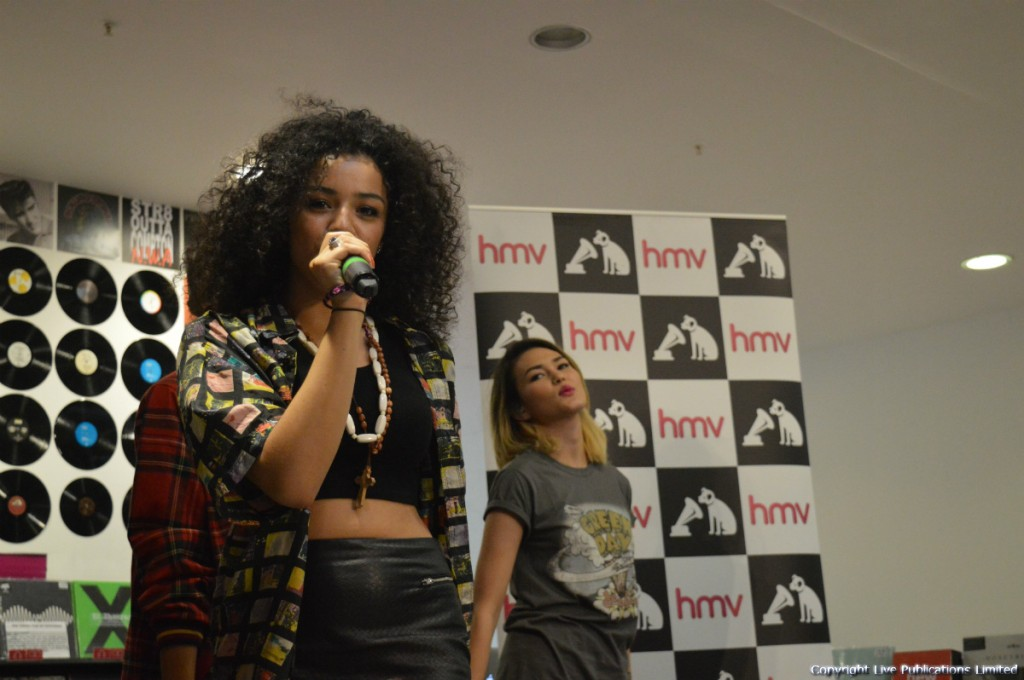 Neon Jungle perform at HMV Manchester