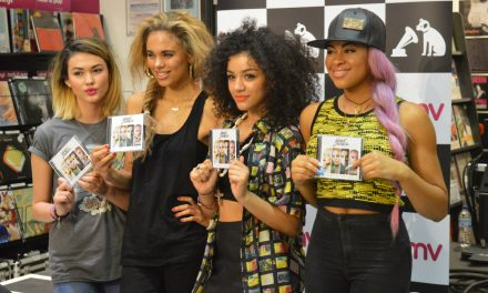 Army of Fans Catch Neon Jungle Performance at HMV