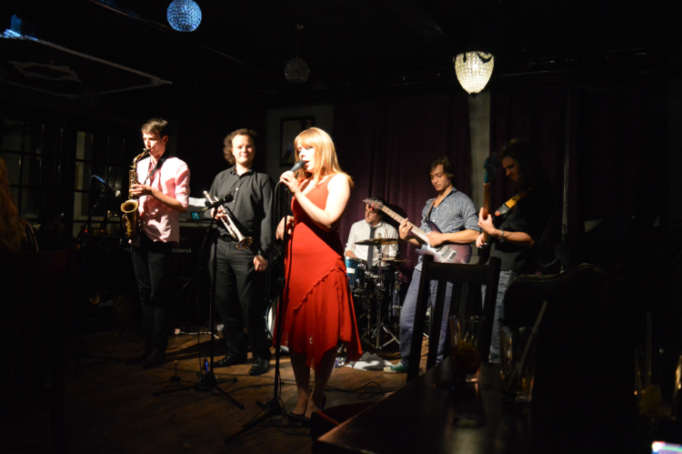 image of Lucy Mae and The Tomcats at The Fitzgerald Jazz and Soul Club