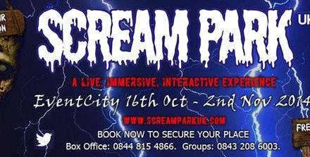 Halloween Scream Park Coming to EventCity