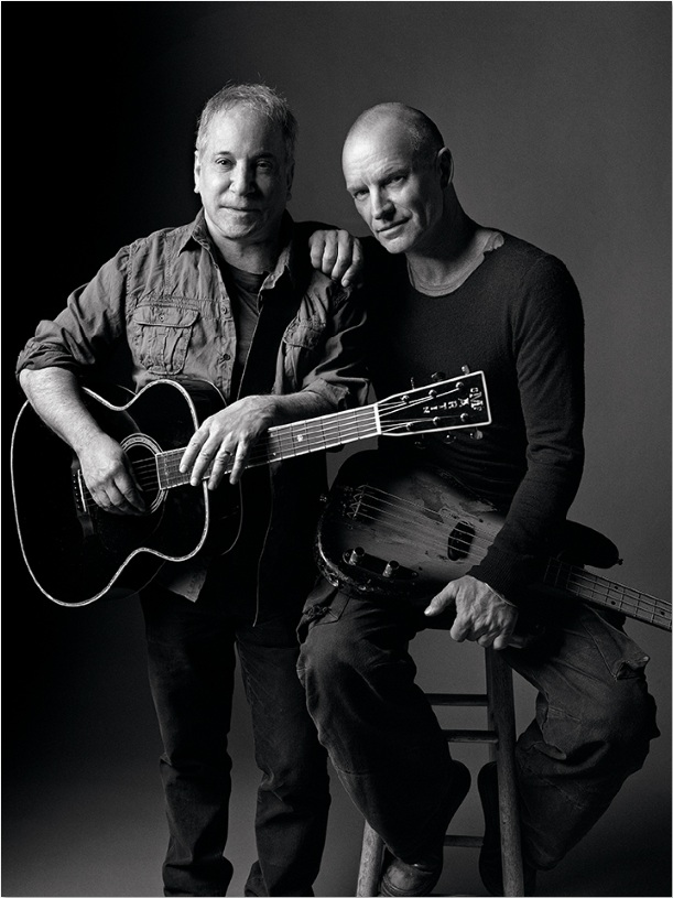 image of Paul Simon and Sting