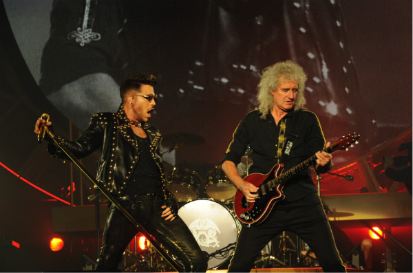 image of Queen and Adam Lambert