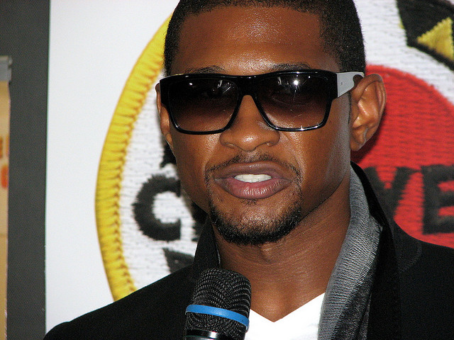 Usher image courtesy David Berkowitz and flickr under creative commons license