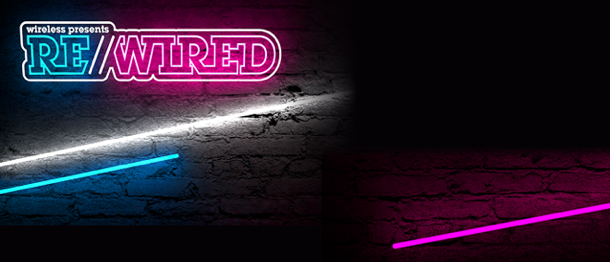 image of RE:WIRED by Wireless Festival branding