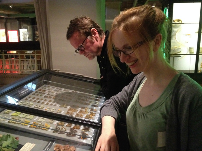 image of Sarah Punshon and Boff Whalley at Manchester Museum