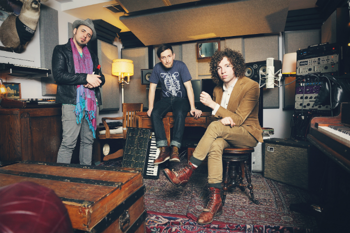 image of Hawksley Workman, Steve Bays and Ryan Dahle