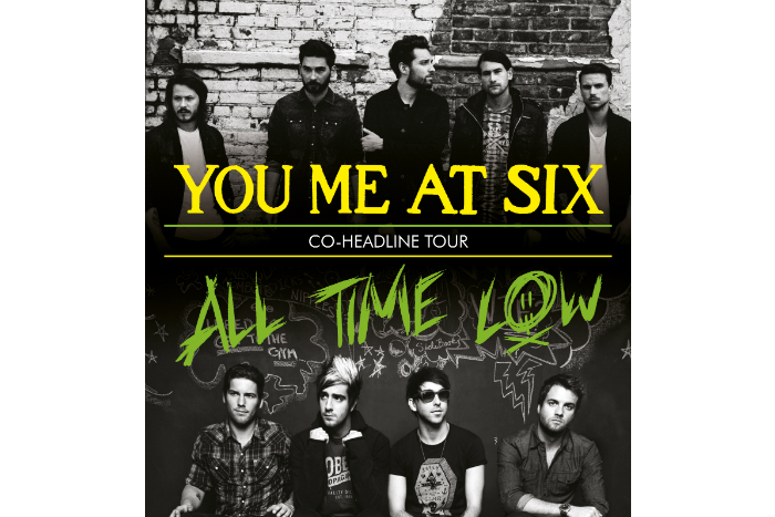image of You Me At Six and All Time Low