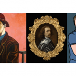 image of Artists in the frame - self-portraits by van dyck and others