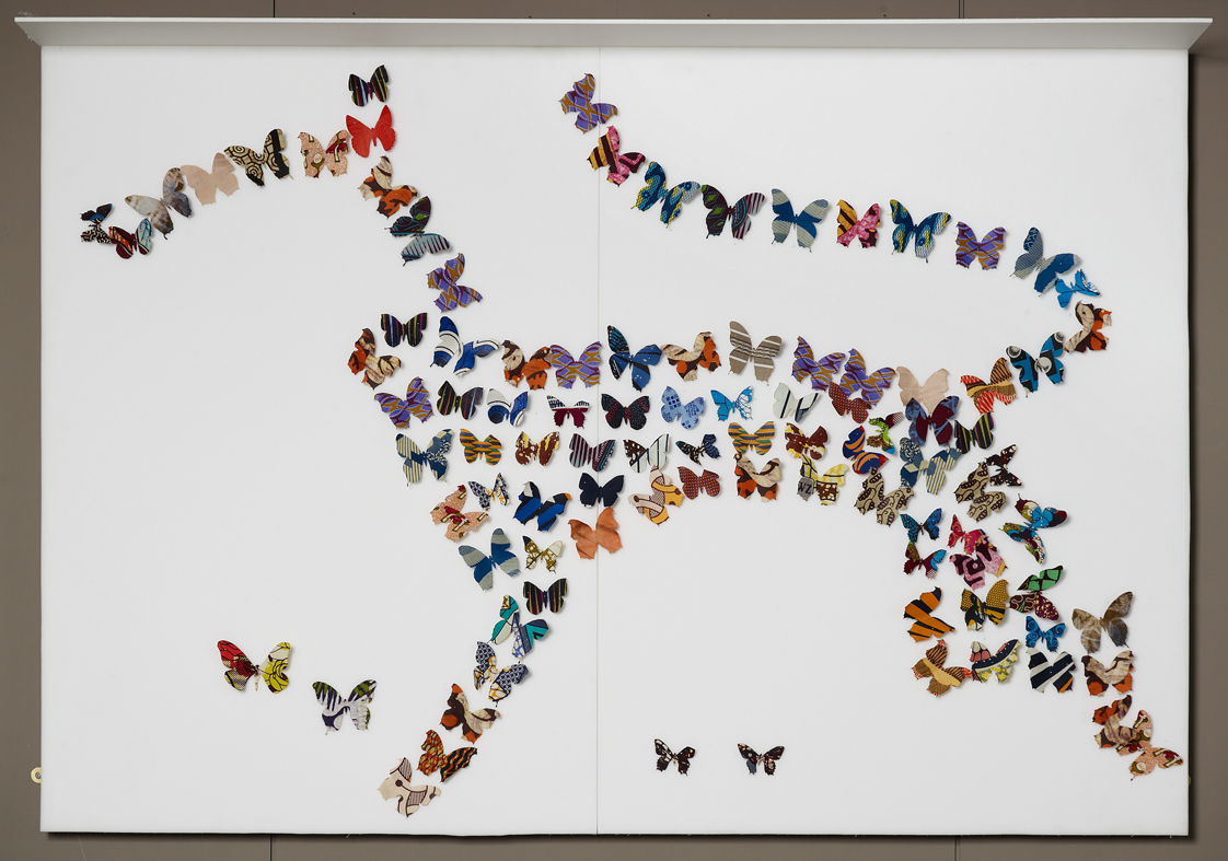 image of Dance of the Butterflies by Romuald Hazoume