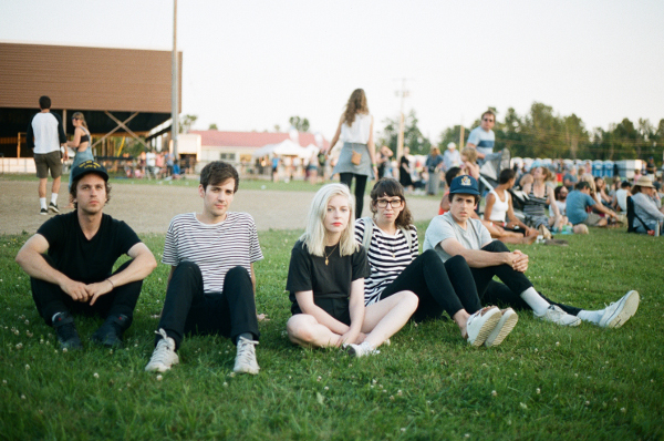 image of Alvvays - photo credit Colin Medley