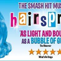 image of Hairspray tour logo