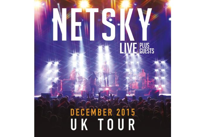 image of Netsky tour poster