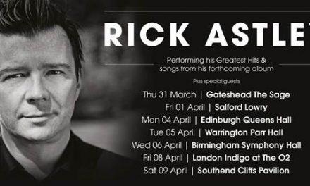 Rick Astley announces 2016 tour dates