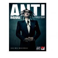image of Rihanna Anti World Tour poster