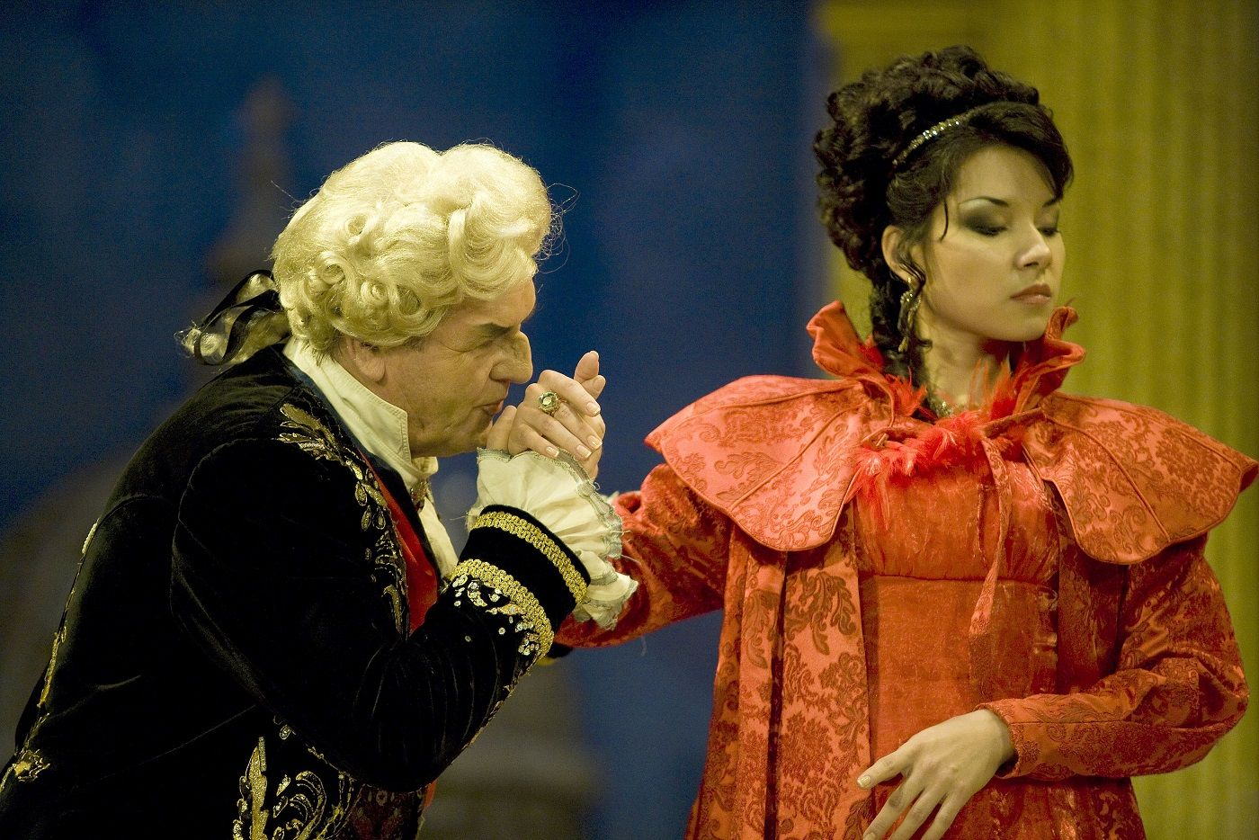 image of Production shot from Ellen Kent's Tosca