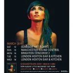 image of Lights March 2016 UK tour poster