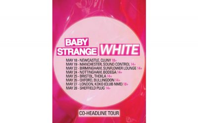 White and Baby Strange announce co-headline Sound Control gig