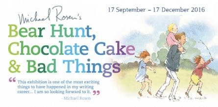 Bear Hunt, Chocolate Cake and Bad Things at Z-arts