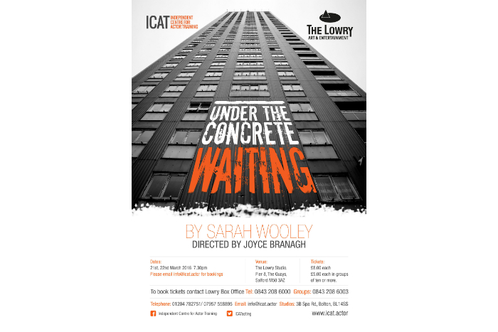 Under The Conrete at The Lowry