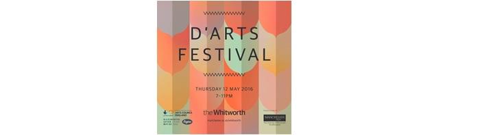 D'Arts Festival logo