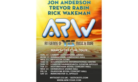 YES reform as ARW – announce Manchester Apollo gig