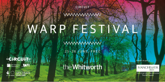 Warp Festival at The Whitworth poster