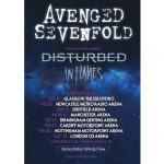 image of Avenged Sevenfold tour poster