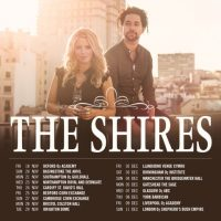 image of The Shires UK 2016 Tour Poster