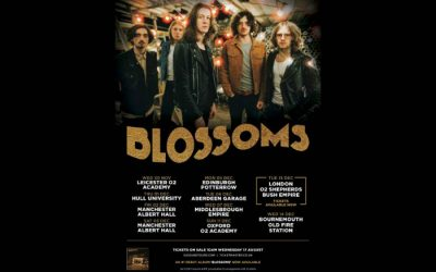 Blossoms announce two Manchester Albert Hall gigs