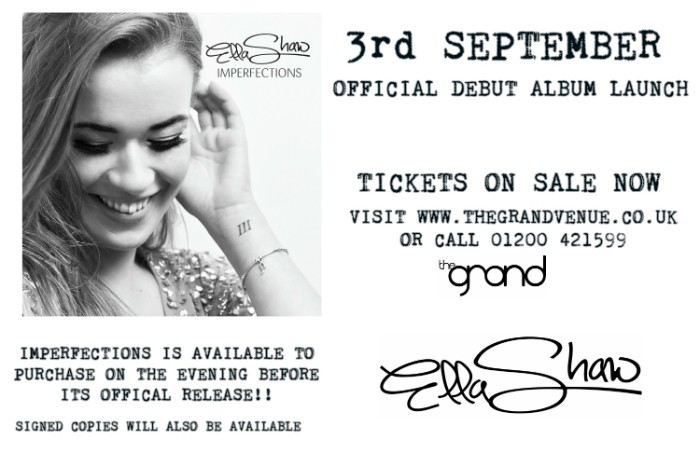 Ella Shaw album launch image