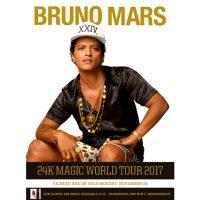Bruno Mars 24K Magic World Tour poster