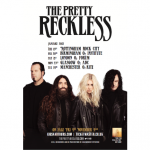 The Pretty Reckless tour poster
