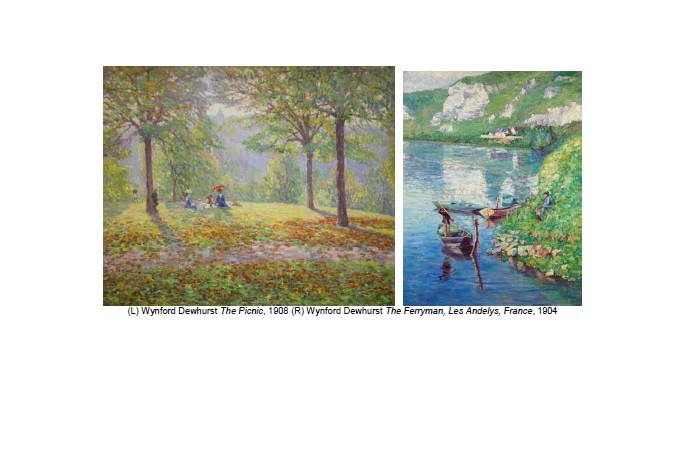 Wynford Dewhurst - The Picnic and The Ferryman images