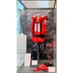 Life jacket on display at Manchester Museum