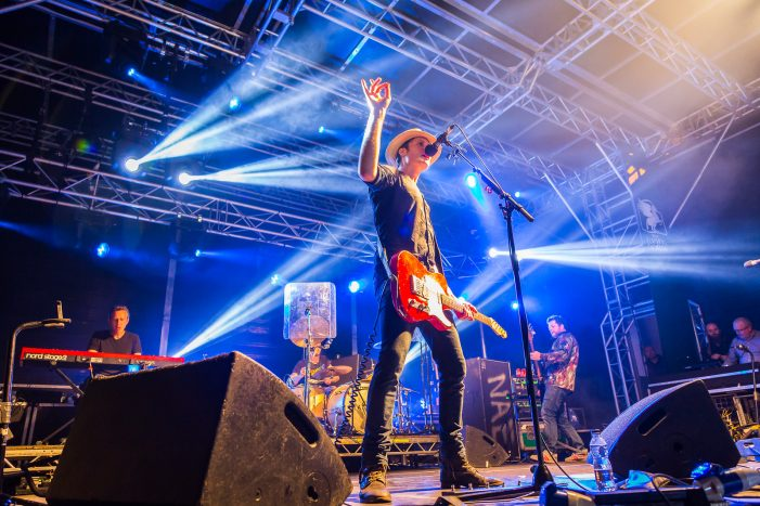 image of The Fratellis, who headlined Rochdale Feel Good Festival 2016