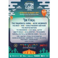 flyer for Cotton Clouds Festival 2017 in Saddleworth