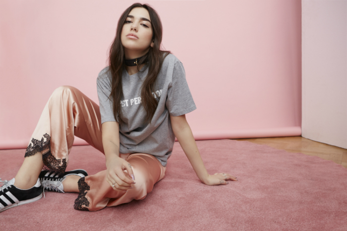 image of Dua Lipa who performs a Manchester gig at the Ritz