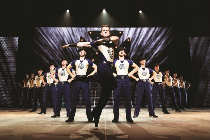 image from Lord of the Dance: Dangerous Games which is performed at Manchester's Palace Theatre.