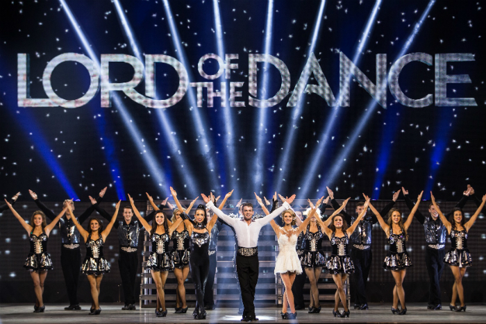 image from Lord of the Dance: Dangerous Games which is performed at Manchester's Palace Theatre