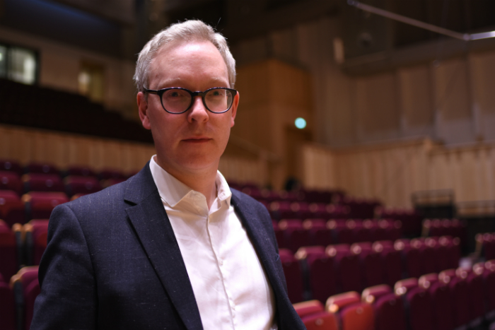 image of Manus Carey who has been appointed as Director of Performance at the Royal Northern College of Music, Manchester