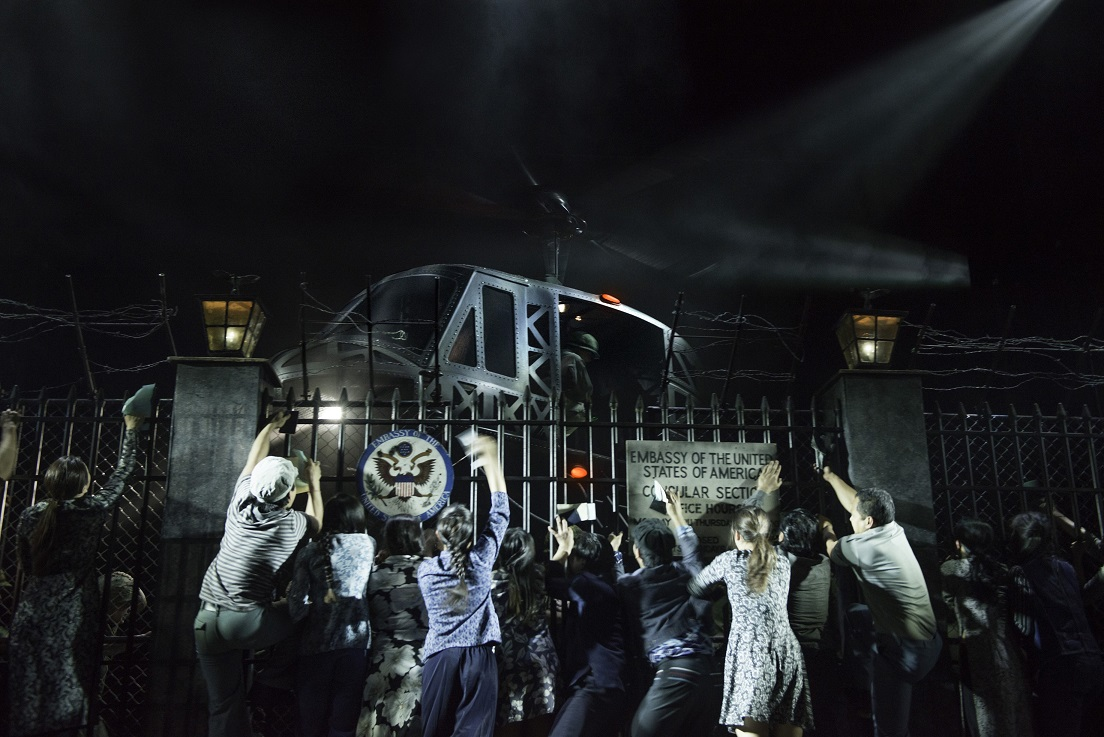 image of Miss Saigon, coming to Manchester's Palace Theatre. image courtesy Michael Le Poer-Trench