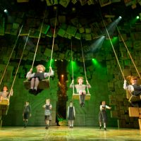 image of 's Matilda The Musical which is coming to Manchester's Palace Theatre. image credit Manuel Harlan