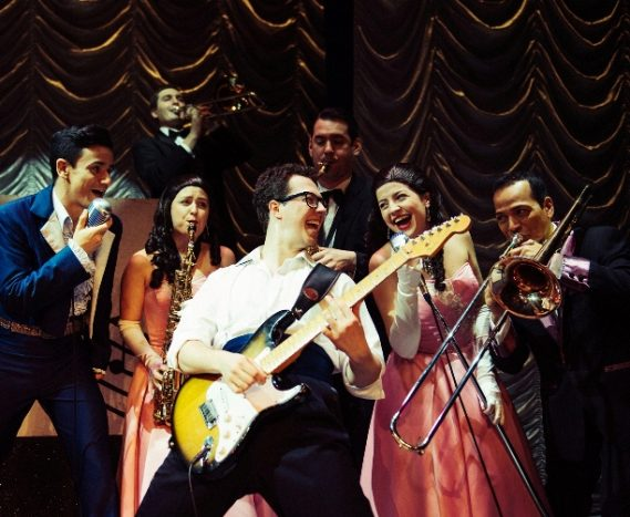 image from Buddy - The Buddy Holly Story at the Palace Theatre Manchester