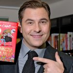 image of David Walliams with Gangsta Granny which is being performed at the Opera House, Manchester