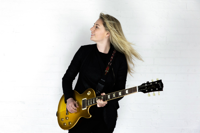 image of Joanne Shaw Taylor who headlines Summertime Festival at Warrington's Parr Hall
