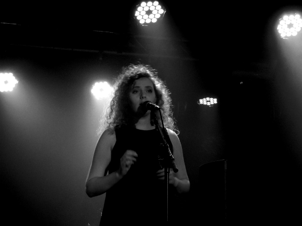 Jess Roberts of UK country pop trio Dahlia at Sound Control, Manchester