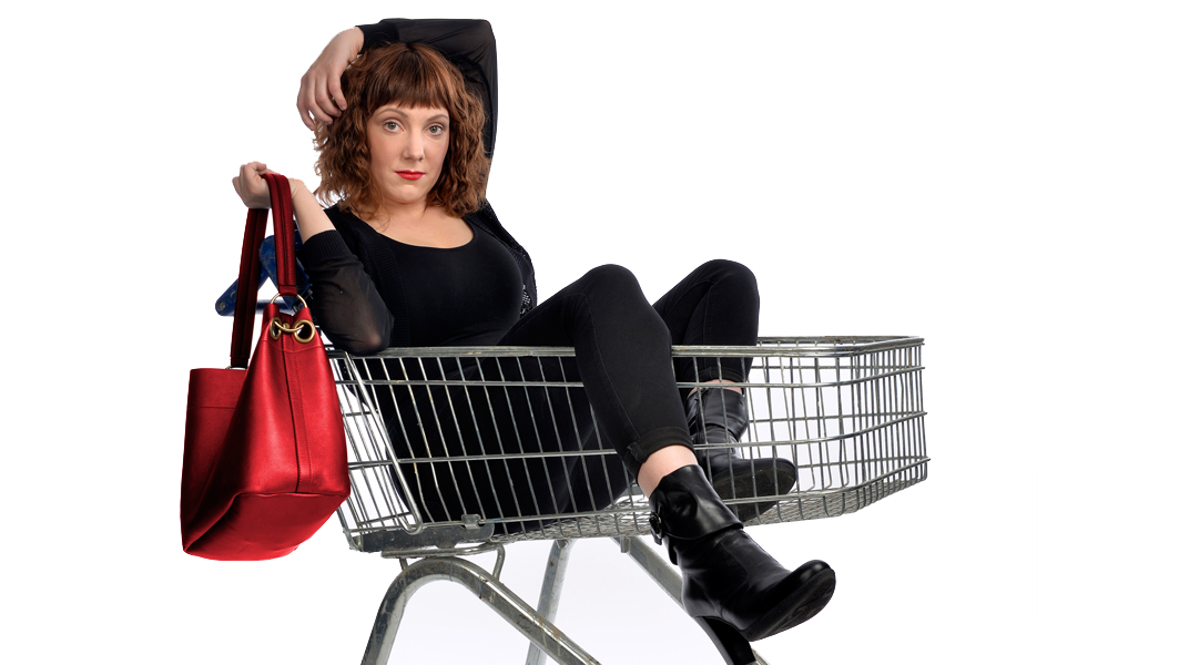 Sophie Willan brings new show Branded to Contact Manchester. image courtesy Steve Ullathorne.