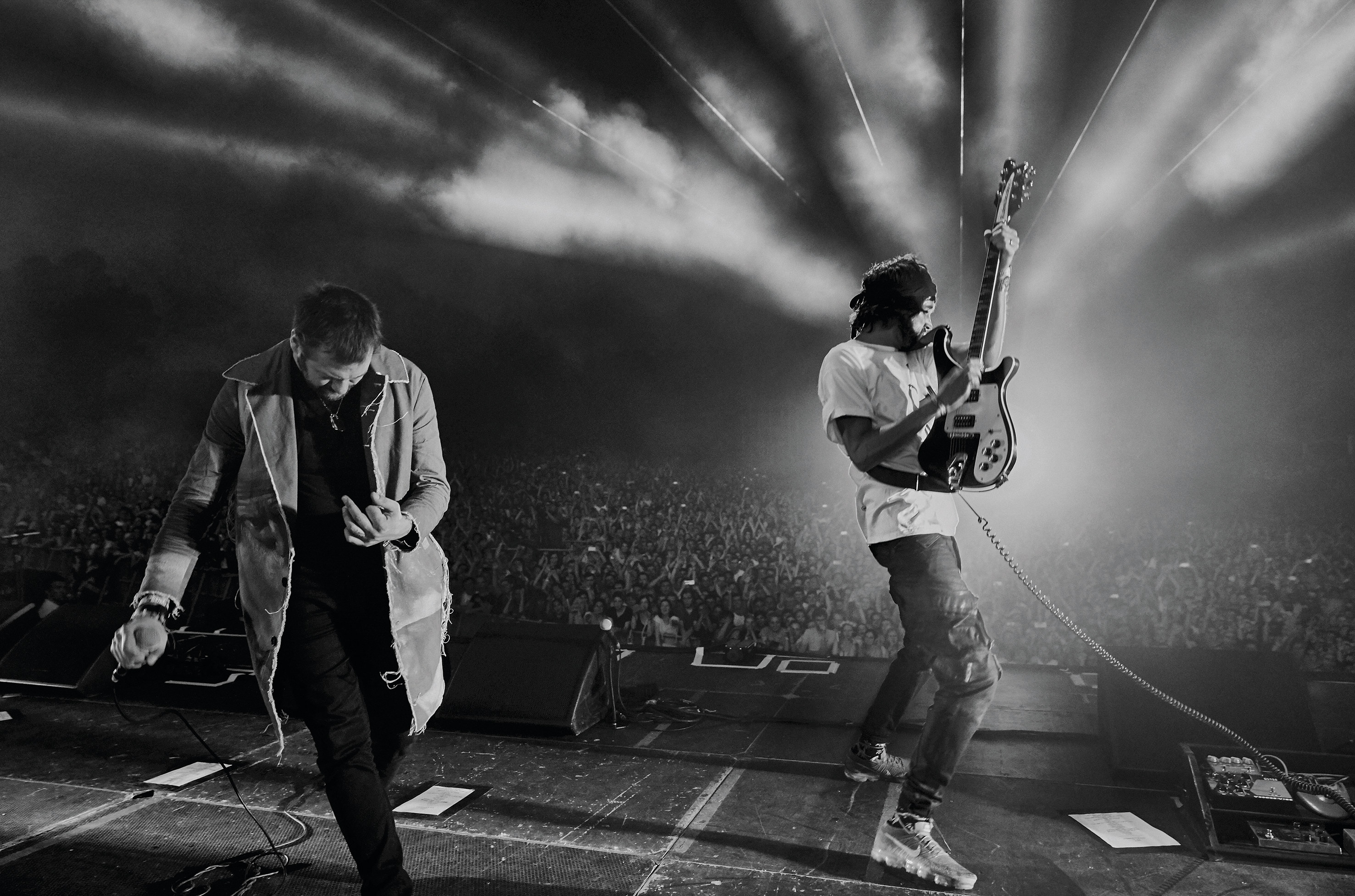 Kasabian will perform at Manchester Arena - image courtesy Neil Bedford