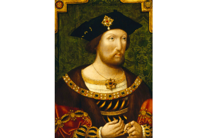 King Henry VIII - image courtesy The John Rylands Library Manchester